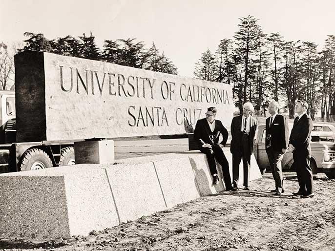 UCSC sign