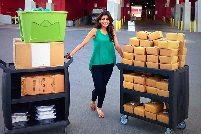 Komal Ahmad, founder of Copia, a food recovery business, is among the young social entrepreneurs seeking to reduce hunger and food waste.