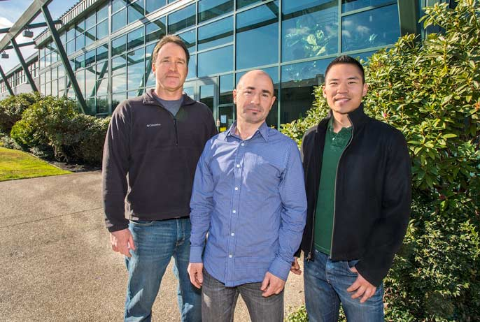 Steve Yannone, Sylvain Costes and Jonathan Tang