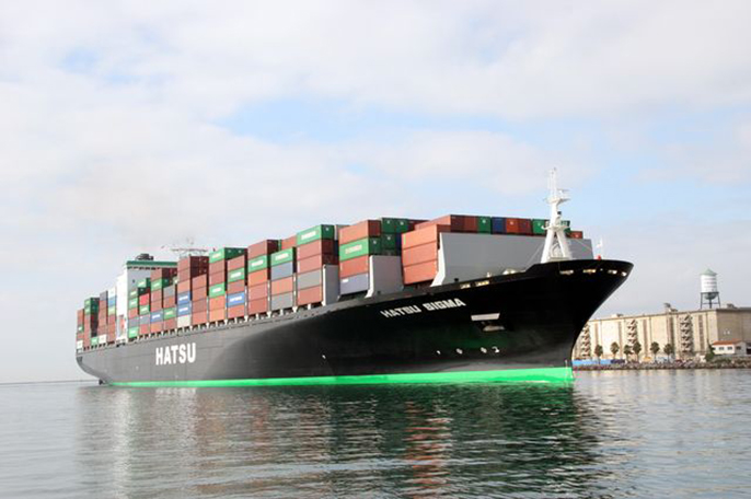 The California report found that the state's port activity in September was at a historically high level.
