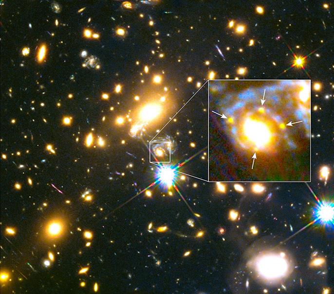 Refsdal supernova