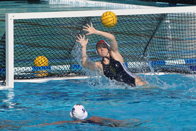 A UC Irvine poll found that water polo goalies experienced more concussions than other players, especially during practice sessions.