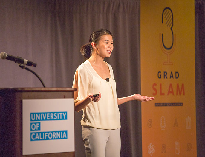 Ashley Fong, UC Grad Slam winner