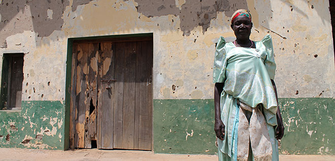 Ugandan woman outside church attacked by rebels