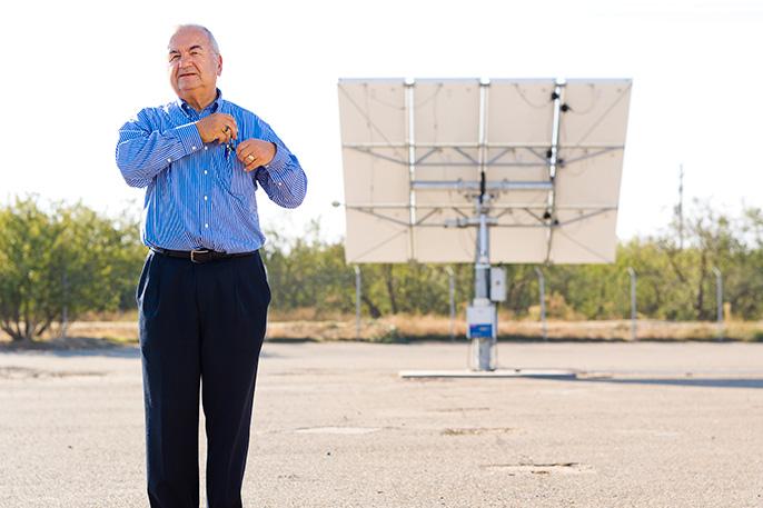 Roland Winston, Director of UC Solar
