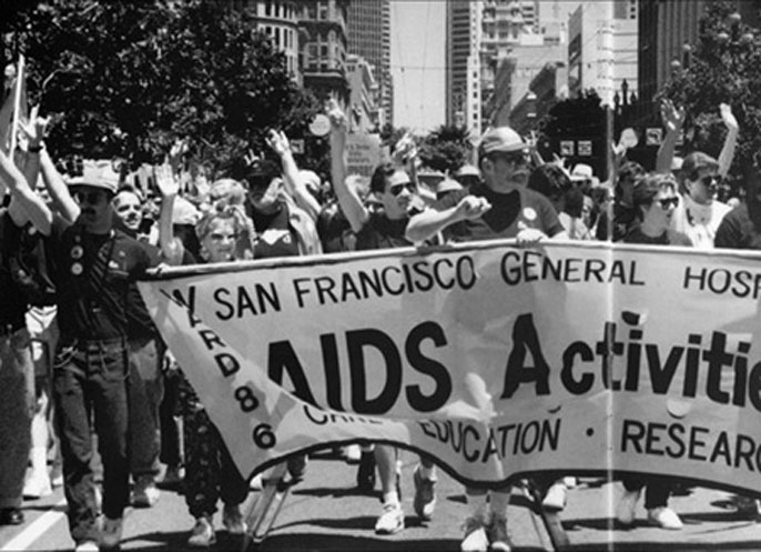 UC Merced AIDS march