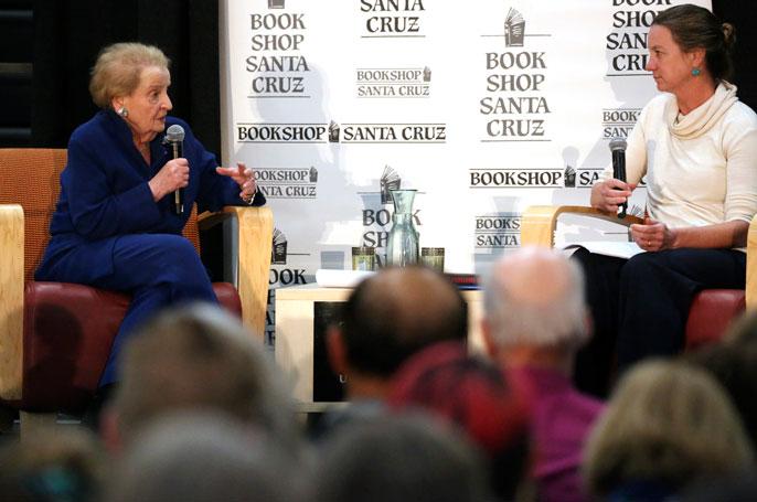 Madeleine Albright in conversation with Martha Mendoza