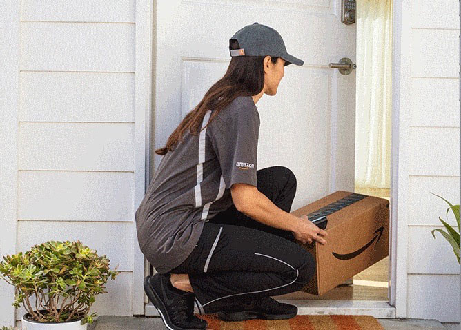 UC Santa Barbara amazon drop off & Should you open the door to in-home delivery services? | University ...