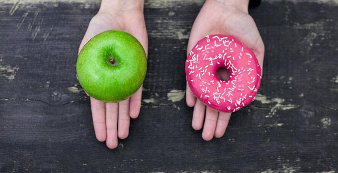 UC apples doughnuts