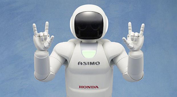 Asimo, the Honda robot