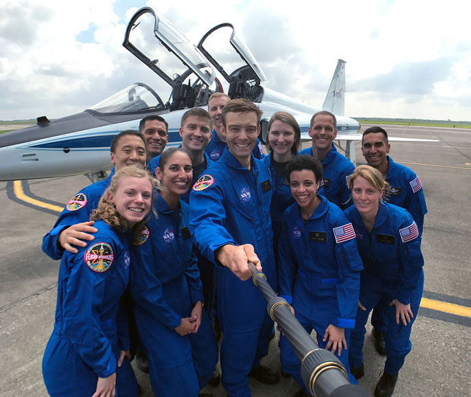 UC astronauts