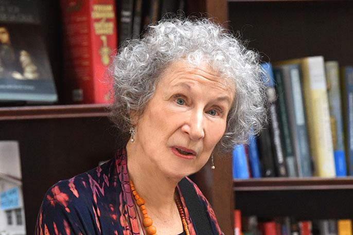 Margaret Atwood at UC Berkeley