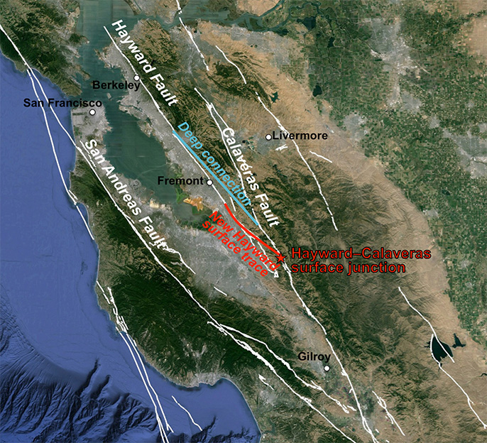 usgs earthquake map california with Calaveras Hayward Fault Link Means Potentially Larger Quakes on Research3 together with Applications furthermore Fresno Ca Zip Code Map as well SIR5206 508 moreover San Andreas Fault Line.