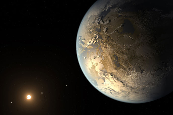 Artist's conception, Kepler 186f