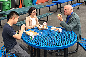 Mark Bittman and middle schoolers