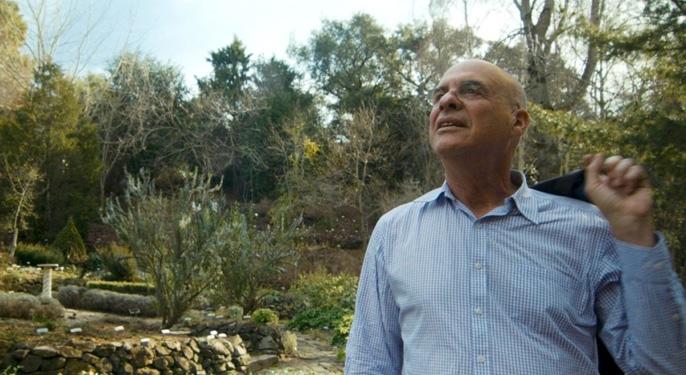 Mark Bittman at the UC Berkeley Botanical Garden