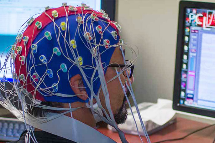 UC San Diego EEG brain stopping system