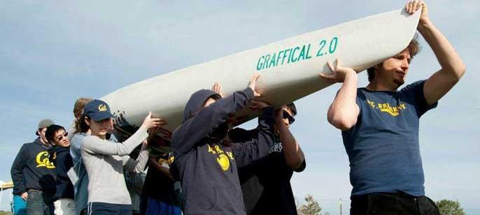 UC Berkeley concrete canoe