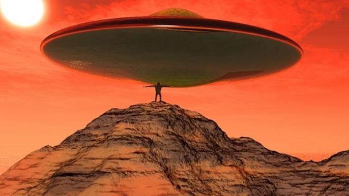 aliens spacecraft
