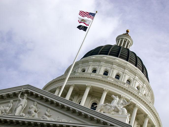 Capitol dome Sacramento