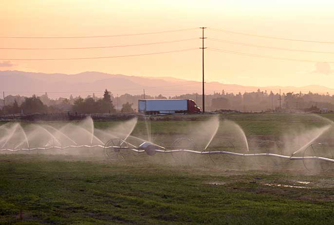 Irrigation in Stanislaus County