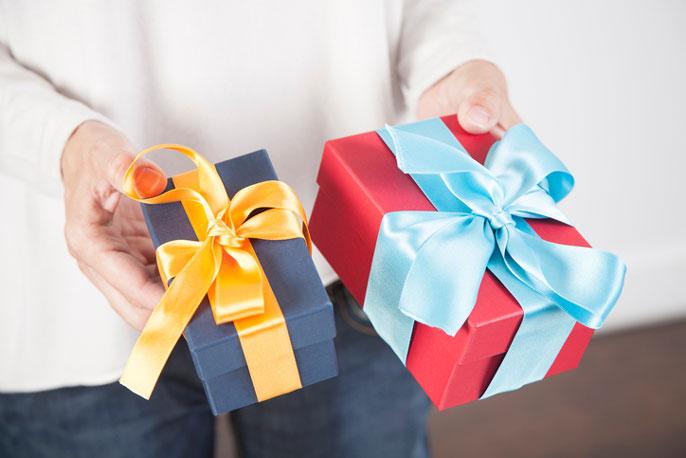 UCLA choosing a gift