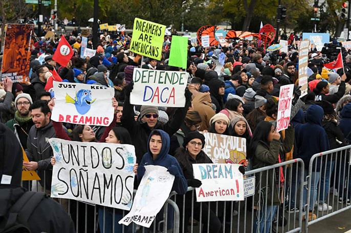 pro-DACA protestors