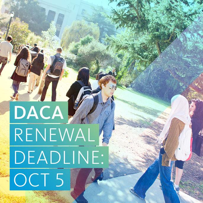 DACA renewal deadine