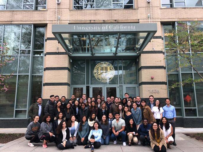 UC students visit DC