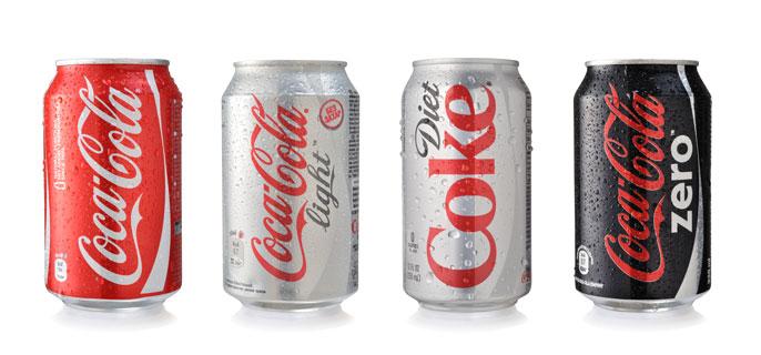 Diet coke banner