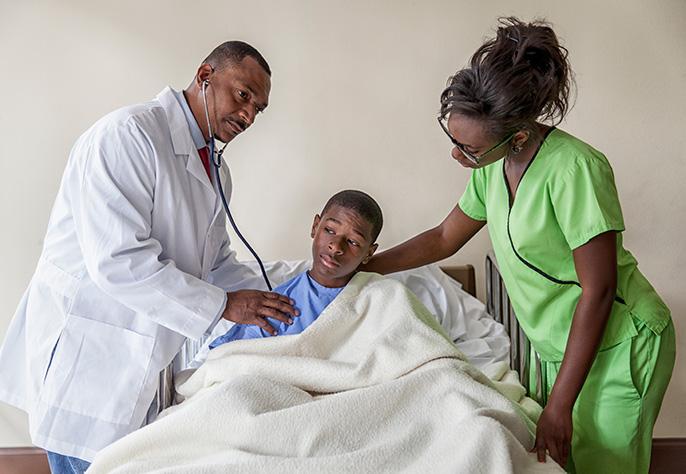doctor, patient, nurse (iStock)