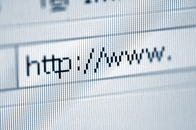 URL address bar