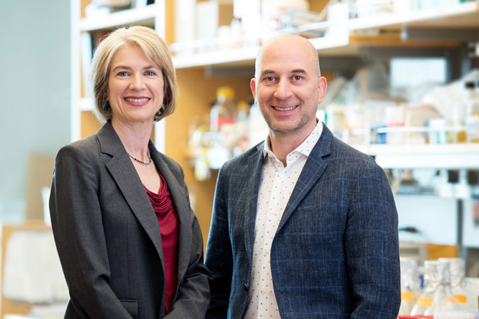 Jennifer Doudna of UC Berkeley and Jonathan Weissman of UCSF