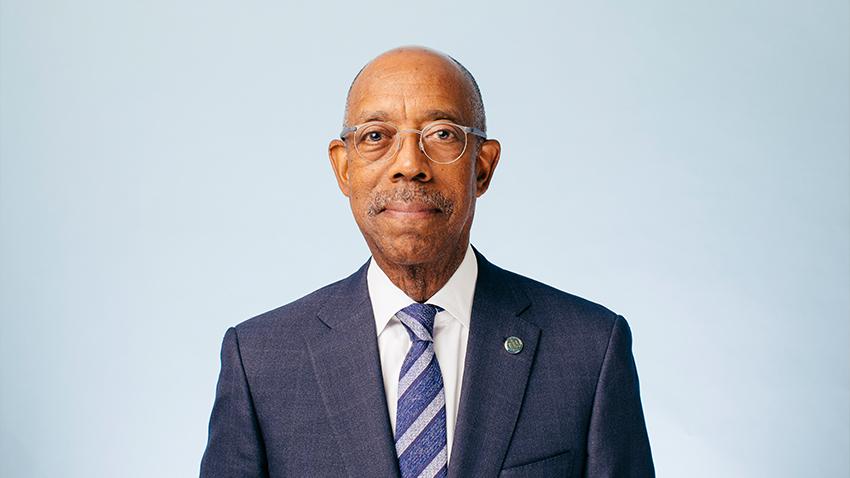 President Michael Drake portrait