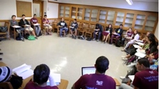 EAOP students sitting in classroom