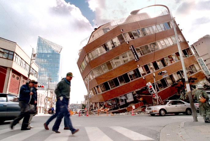 earthquake system LA Times
