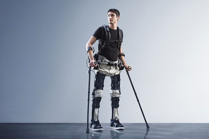 UC Berkeley exoskeleton