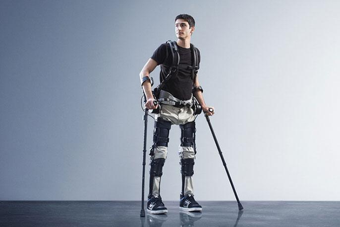 UC Berkeley exoskeleton