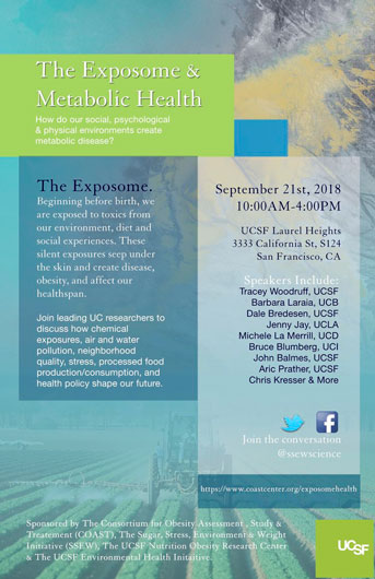 Exposome symposium flier