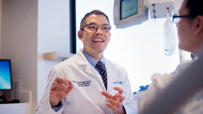UCSF cancer Lawrence Fong M.D.