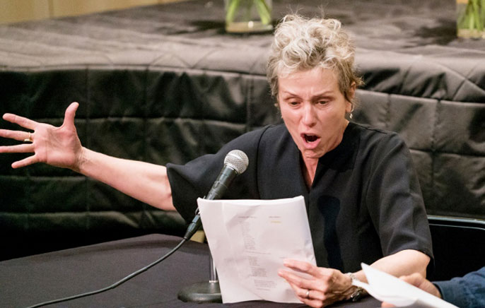 Frances McDormand at UCSF