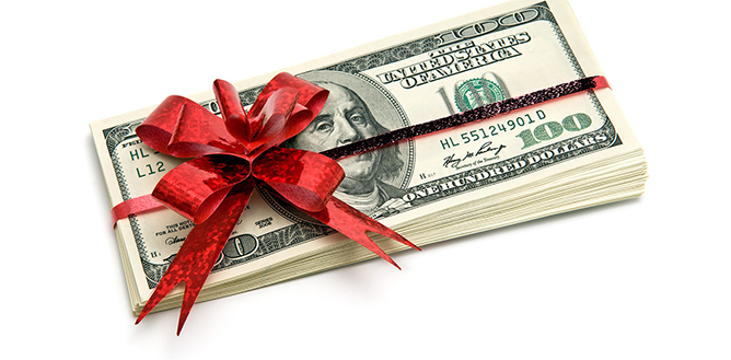 A gift of cash may be just the right thing.