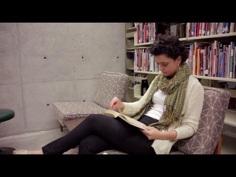 graduate student reading