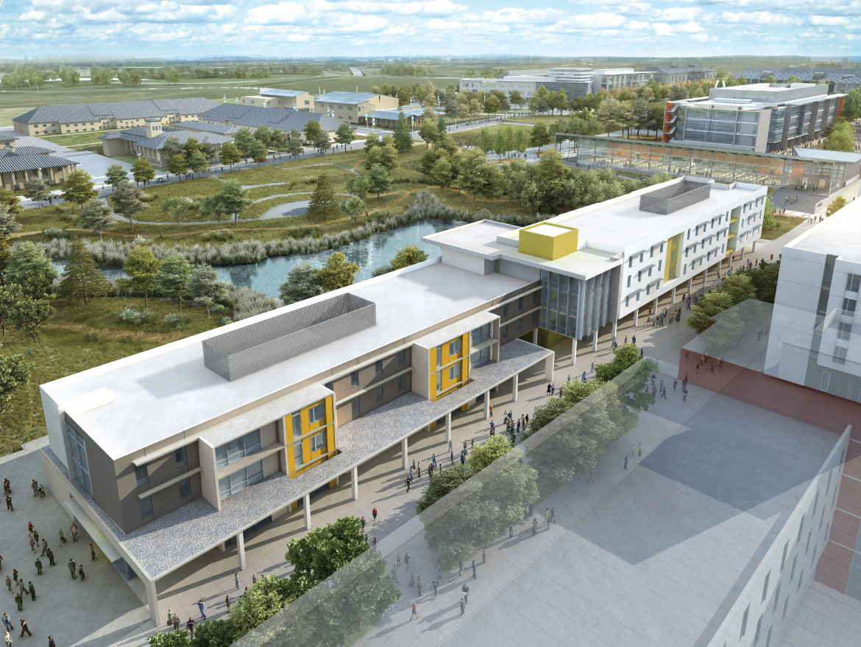 UC Merced new housing