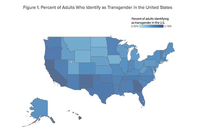 UCLA Williams Institute transgender