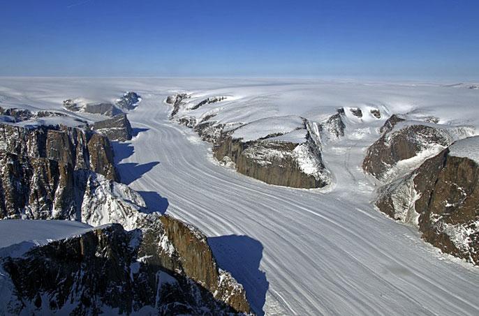 Sukkertoppen ice cap, Greenland