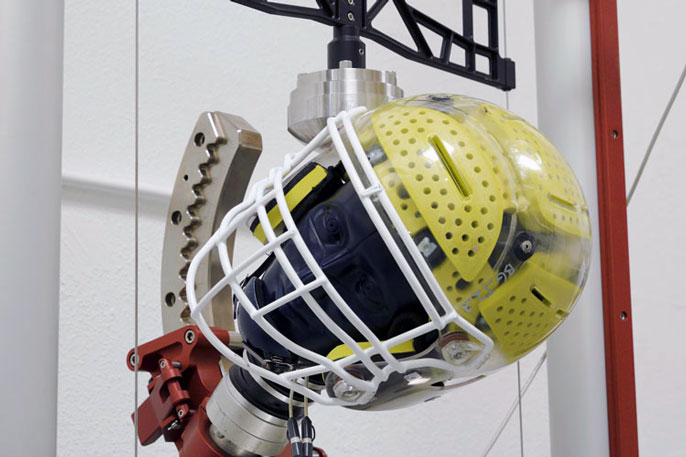 Newly designed helmet