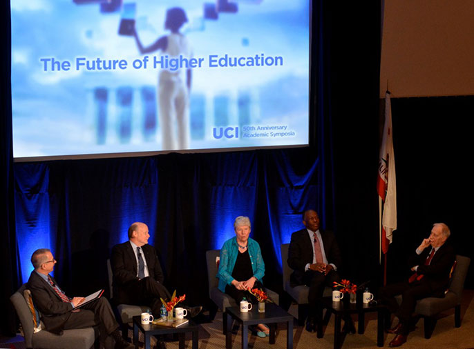 UC Irvine higher education summit