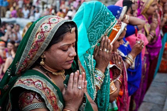 UC Santa Barbara Hindu women
