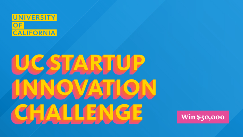 Image that says UC Startup Innovation Challenge
